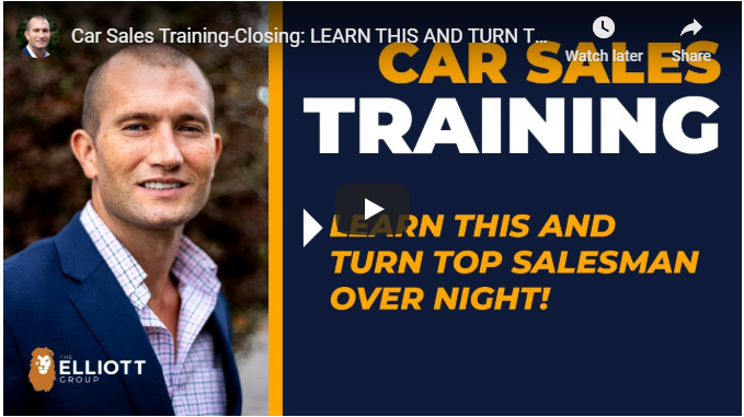 andy elliott teaches how to become a top car salesman